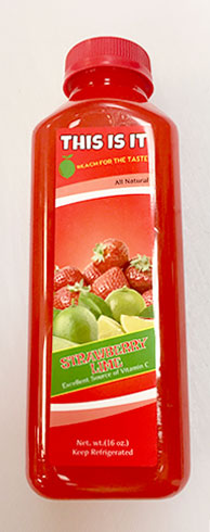 Strawberry Lime | Natural Juice in Brooklyn, NY